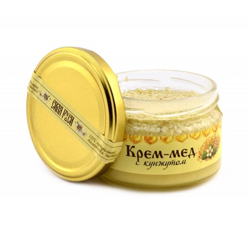 Крем-мёд с кунжутом