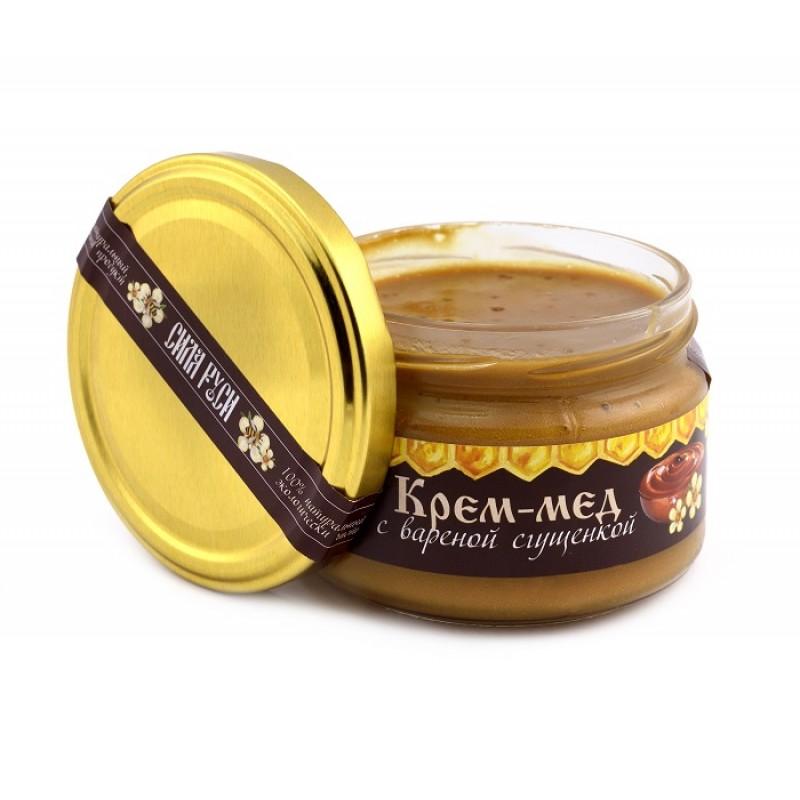 Крем-мёд с вареной сгущенкой