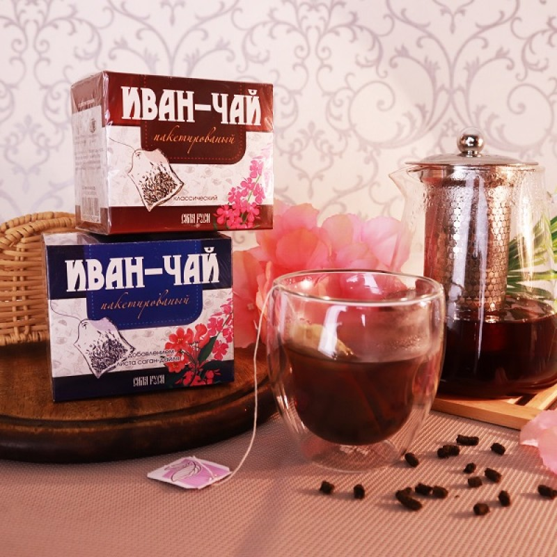 """Иван-чай """"Классический"""", пакетированный (20 п.)"""