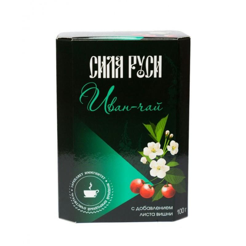 Иван-чай с листьями вишни