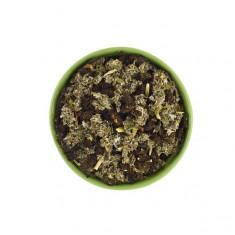 Иван-чай с листьями малины